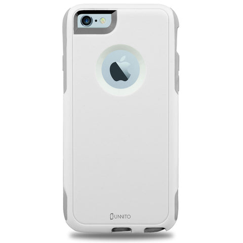 iPhone 6 White Case Hybrid [No design]