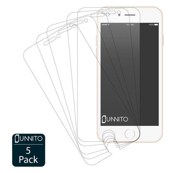 Unnito iPhone 6 Ultra Clear HD Screen Protectors [5 Pack]