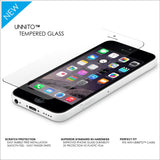 Unnito iPhone 5, 5S, 5C Tempered Glass Screen protector (HD - Clear)