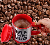 NEW SELF STIRRING MUG - FREE SHIPPING
