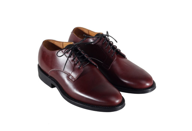 Derby Shoe Burgundy Box Calf