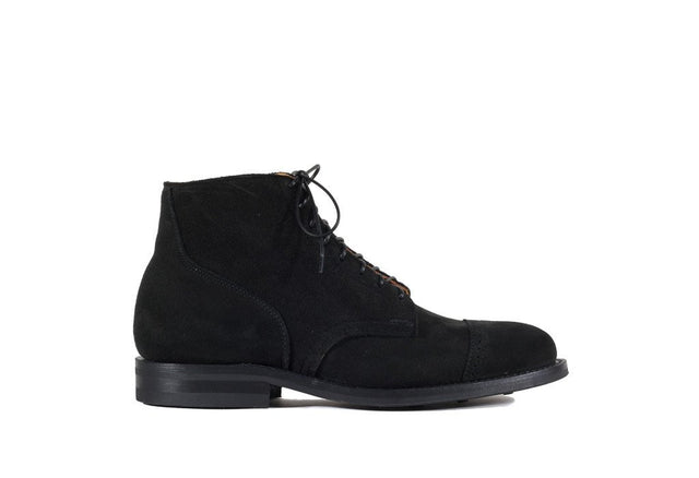 Black Calf Suede