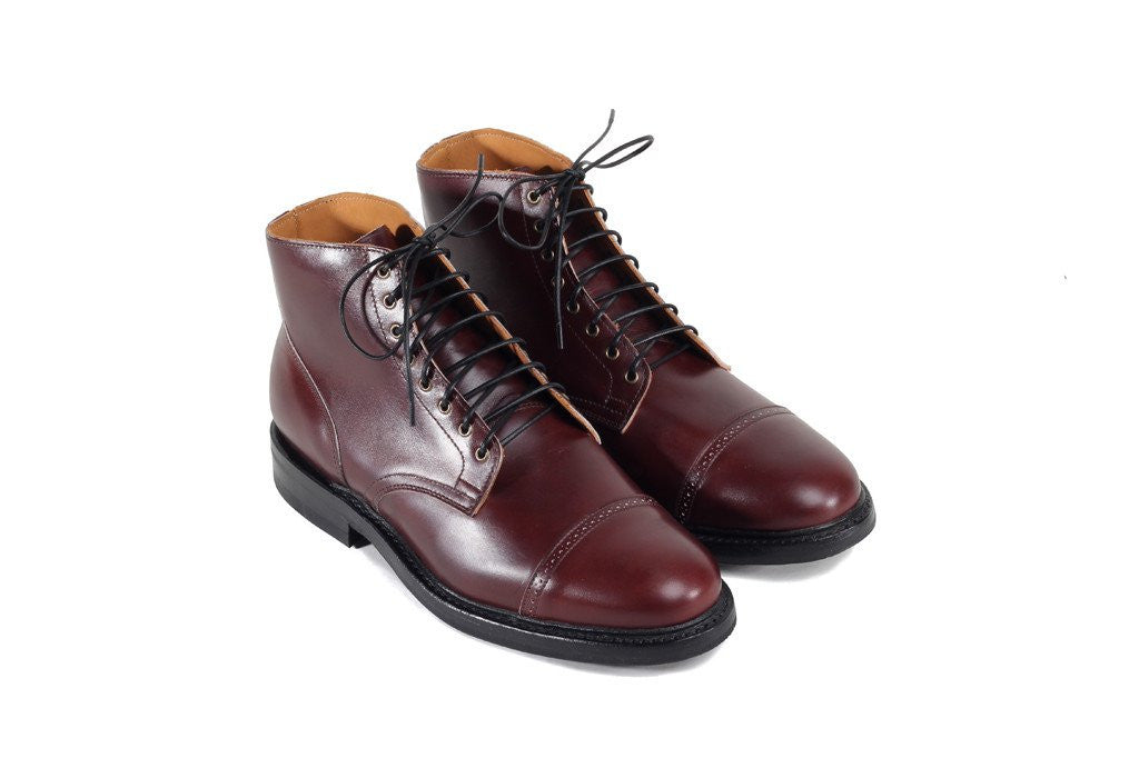 Burgundy Box Calf