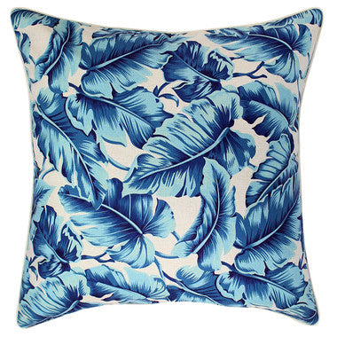 Outdoor Cushion Cover - Caribbean Ocean - Large