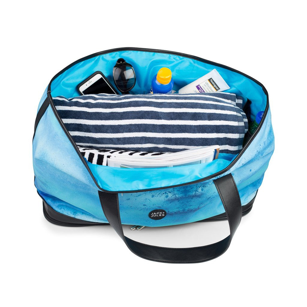REEF BLUE COASTAL BEACH BAG