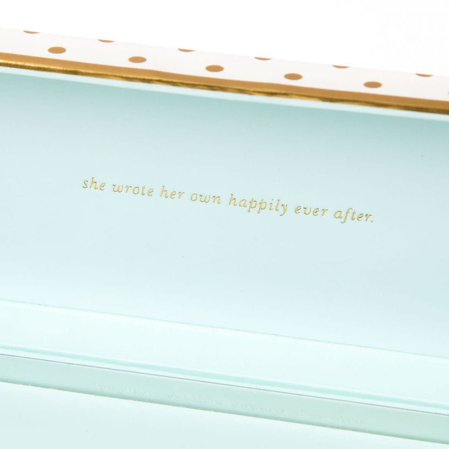 Gold Dots Ball Point Pen by Kate Spade New York