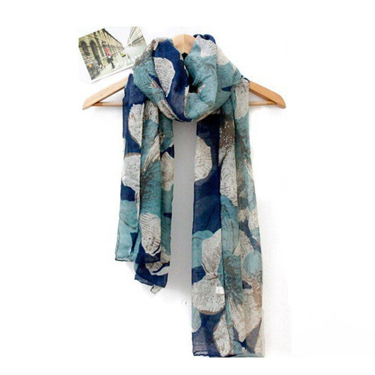 Scarf - Blues Nature