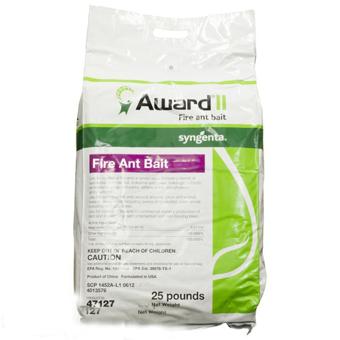 Award II Fire Ant Bait (25 lb Bag)