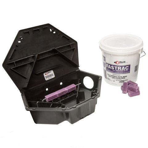 Protecta LP Rat Bait Stations CASE (6 stations) with Fastrac Blox