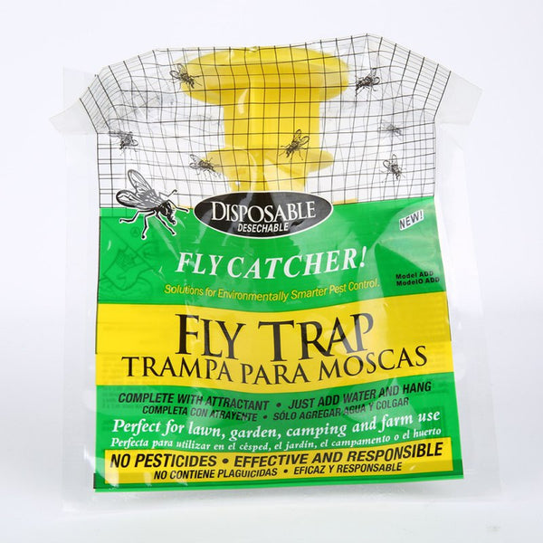 Hanging fly attracting bag Attractant Flycatcher useful for Outdoor Garden Pest Control Products