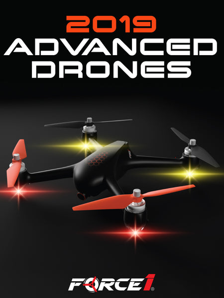 Force1 Advanced drones come with all the top features and HD camera for optimal drone flight and crisp, clear aerial footage. Check out the complete drone buyer guide now to find the best drone for you!