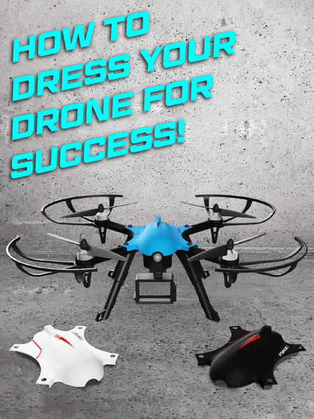 You never have to worry about aethetic damages to your drone; the F100 Ghost comes with three shells. Your drone can be fashionable and at the same time protected. You have the option to select your favorite look and not worry about damages with the extra shell available.
