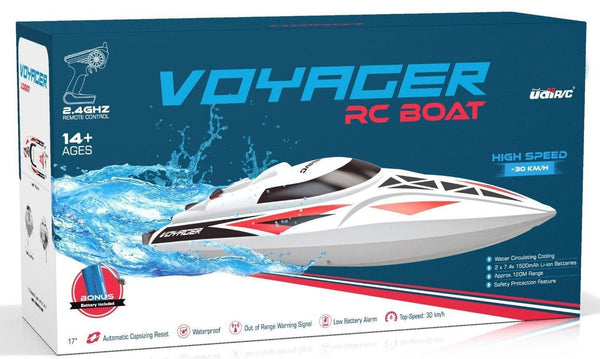 UDI007 Voyager Remote Control Boat with Bonus Battery