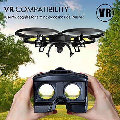 U818A Wi-Fi FPV Drone w/ VR Headset (LIKE NEW)