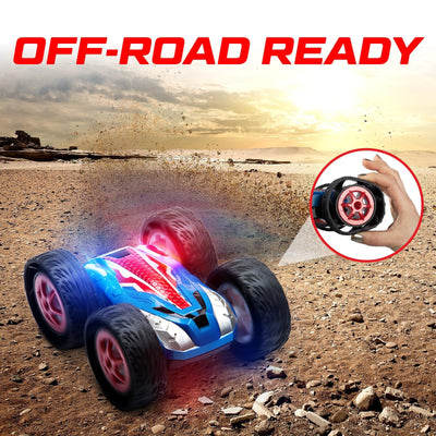 Cyclone Double Sided Flipping RC Car
