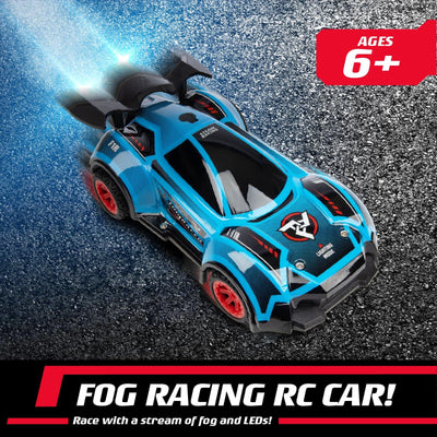Fog Racer LED RC Car with Interchangeable Shells