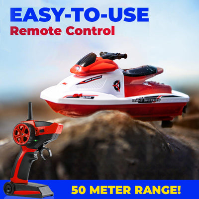Force1 Wave Speeder Remote Control Motorboat