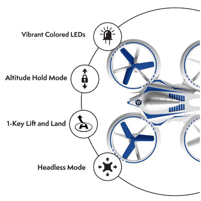 UFO 4000 Mini Drone with  LED lights and Extra Battery - Force1RC