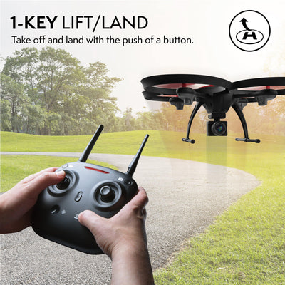 Force1 Drone for Beginners Altitude Hold 15-min Flight Time 720P Camera One Key Return Headless Mode U49C Quadcopter