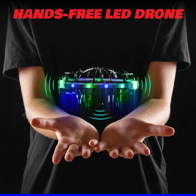 Scoot Hand Drone with LED Lights - Force1RC