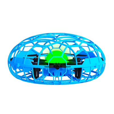 Force1 Scoot XL Hand Drone for Kids and Adults - UFO Flying Ball Drone (Blue/Black) - Force1RC