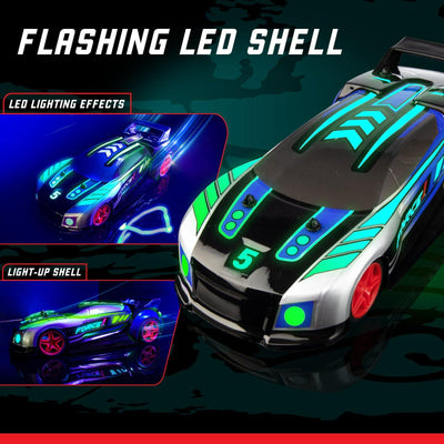 Techno Racer Music Car with LED Lights - Force1RC