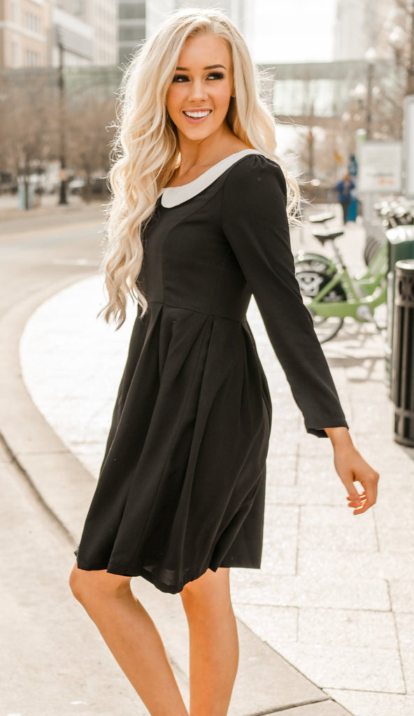 Peter Pan Collar Dress
