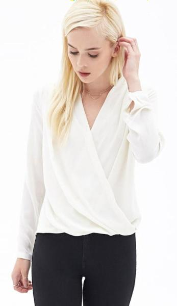 Blaire Cross Front Blouse