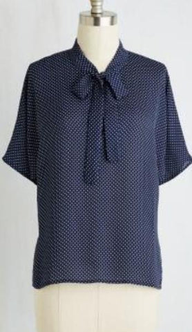 Margot Neck Tie Blouse