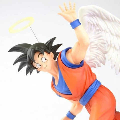 angel goku with wings