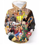 Anime collection Hoodie