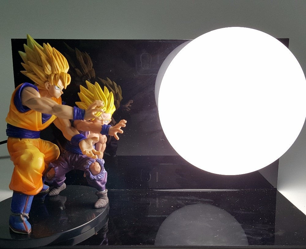 Dragon Ball Z Lamp Goku and gohan - Dragon ball z Merchandise