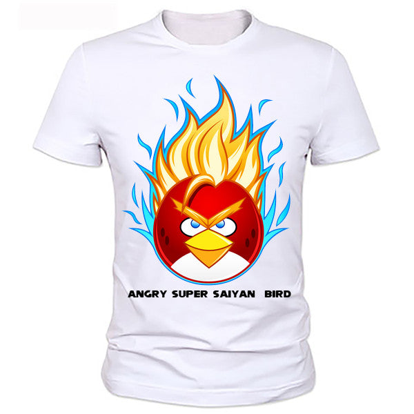 Super saiyan angry Bird Dragon Ball Z T shirt - Dragon ball z Merchandise