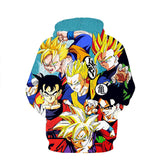Gohan Super saiyan Hoodie - Dragon ball z Merchandise