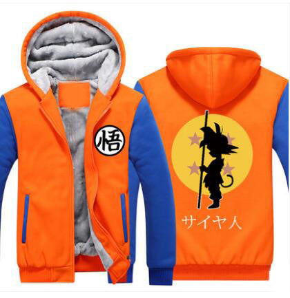 Orange Son Goku Cosplay  Hoodie