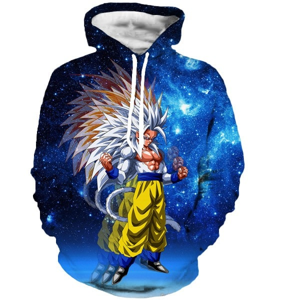 Dragon ball z Hoodie Super saiyan 5