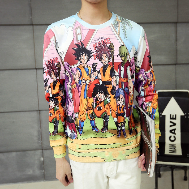 Kame's House DBZ family Long sleeve (Limited Edition)