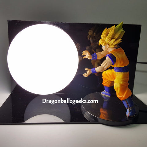 Dragon Ball Z Lamp Son Gokou Kamehameha - Dragon ball z Merchandise