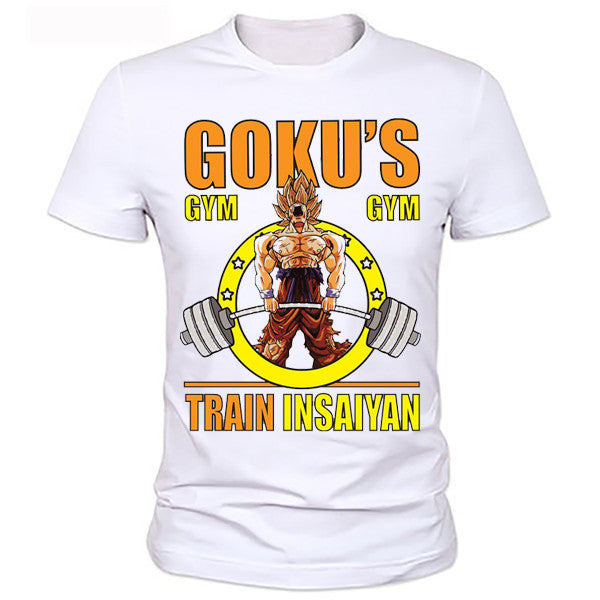 Dragon ball z Goku train in saiyan shirt - Dragon ball z Merchandise