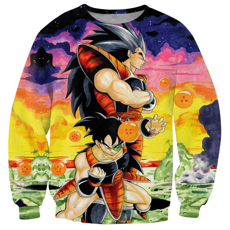 3D Dragon Ball Original Sweater