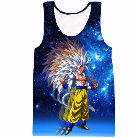 Super Saiyan 5 Galaxy Tank Top