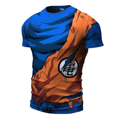 Goku Battle Damaged Armor Shirt - Dragon ball z Merchandise