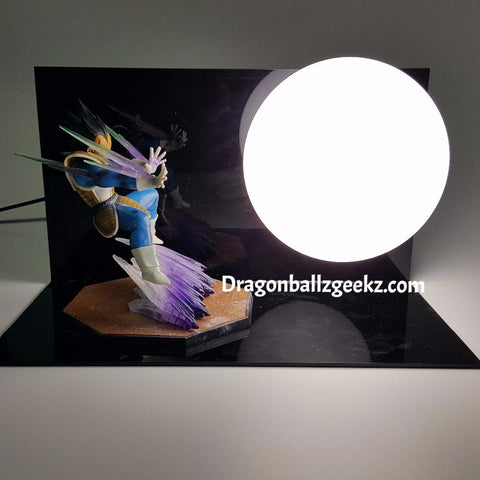 Dragon Ball Z DIY Vegeta Lamp - Dragon ball z Merchandise