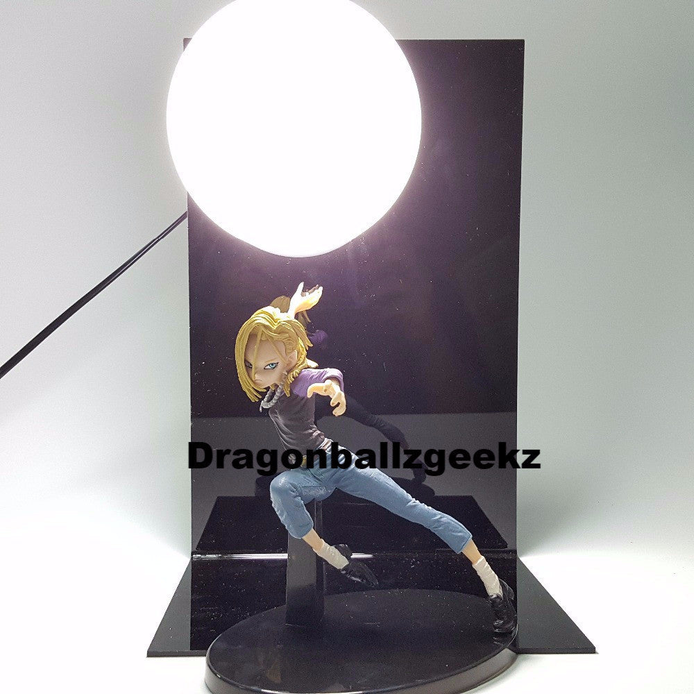 Charming Dragon Ball Z Android 18 Lamp   Dragon Ball Z Merchandise