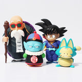 Dragon Ball Pilaf-Puar-Son Goku-Master Roshi Action Figures (4pcs set) - Dragon ball z Merchandise
