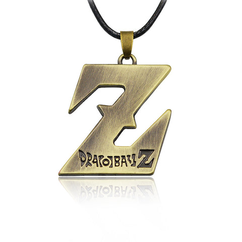 Dragon ball Z necklace (Z pendant) - Dragon ball z Merchandise
