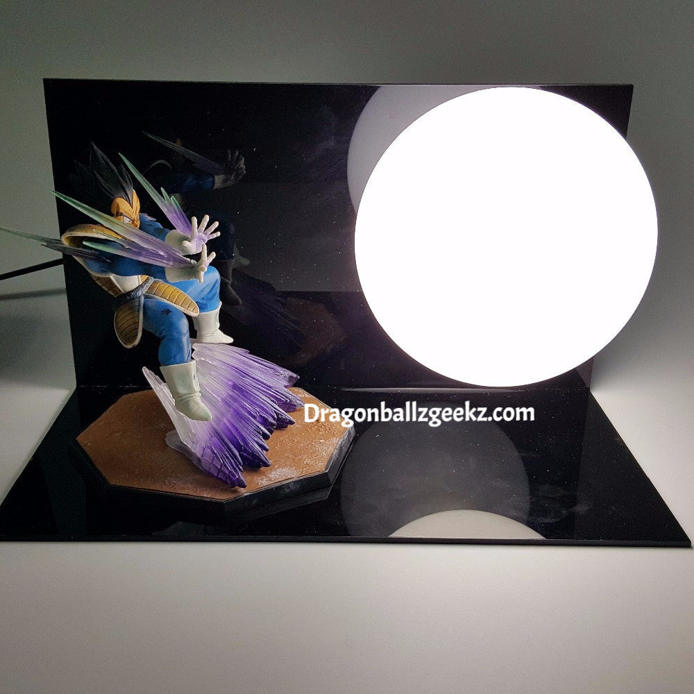 Dragon Ball Z DIY Vegeta Lamp   Dragon Ball Z Merchandise