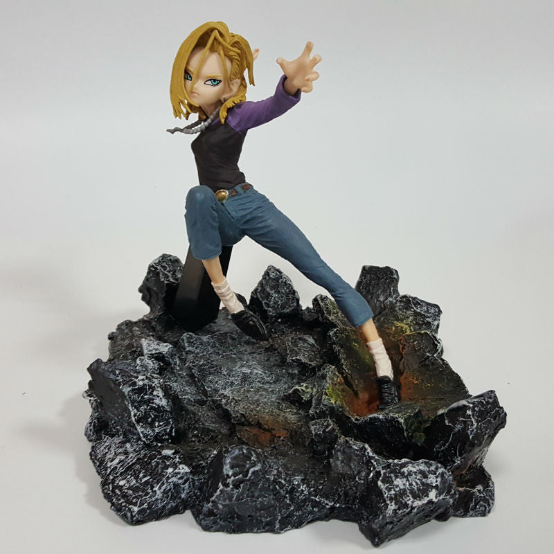 Dragon Ball Z Android 18 Figure - Dragon ball z Merchandise