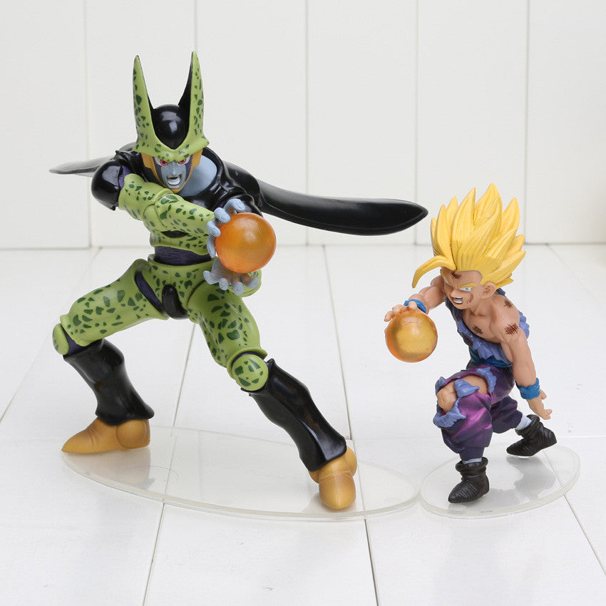 Dragon Ball Z Cell and Son Gohan action figure - Dragon ball z Merchandise