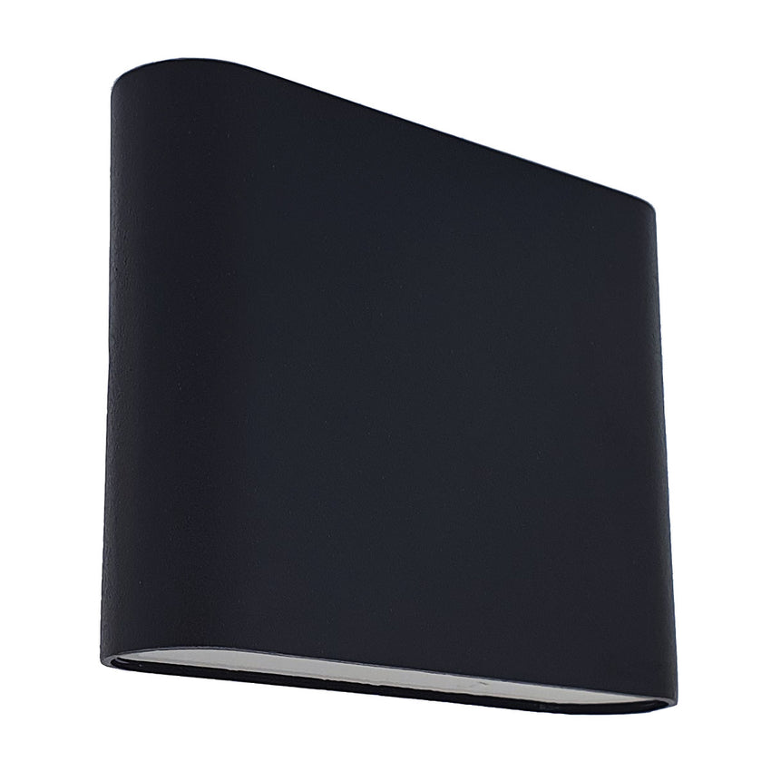 Alusso LED Aluminium Up & Down Outdoor Wall Light